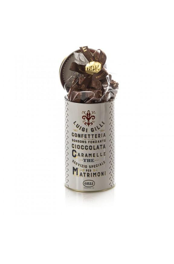 Latta Gilli con Biscotti di Prato nocciole e cioccolato | Caffè